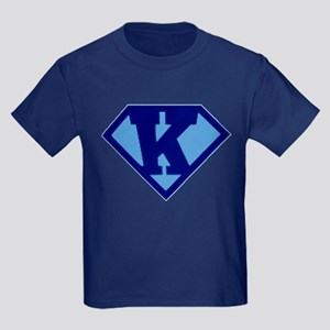 Super Hero Letter K T-Shirt
